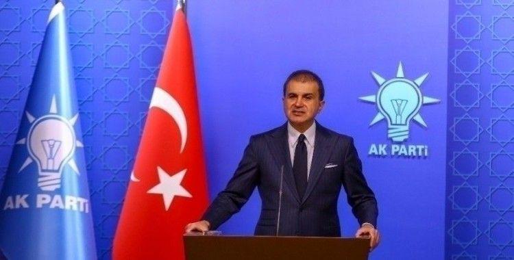 AK Parti Sözcüsü Çelik Yunanistan'a kınama