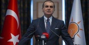 AK Parti Sözcüsü Çelik: Yunanistan'da şanlı bayrağımızın yakılmasını şiddetle lanetliyoruz