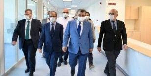 Sağlık Bakanı Koca: Göztepe Eğitim ve Araştırma Hastanesinin birinci etabı yakında hizmete girecek