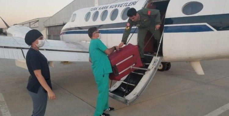 Organ nakli için Milli Savunma Bakanlığı'ndan uçak ve helikopter
