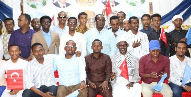 Somali'de Ayasofya-i Kebir Cami-i Şerifi açılışı nedeniyle tebrik programı düzenlendi