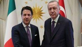 Cumhurbaşkanı Erdoğan ile İtalya Başbakanı Conte telefonda görüştü