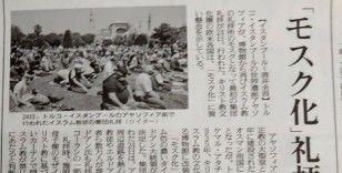 Ayasofya'da ilk Cuma namazı Japonya basınında geniş yankı buldu