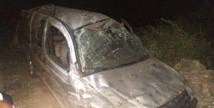 Kahramanmaraş'ta hafif ticari araç uçuruma yuvarlandı: 1 ölü, 5 yaralı