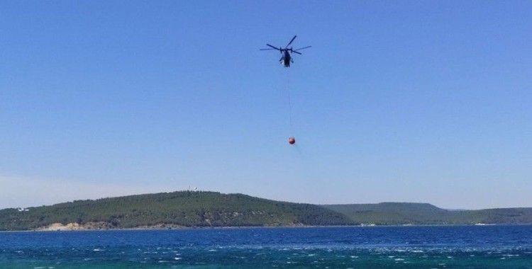 Çanakkale Boğazı yangın sebebiyle çift taraflı transit gemi geçişlerine kapatıldı