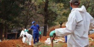 Brezilya ve Hindistan'da Kovid-19 kaynaklı ölümler artıyor