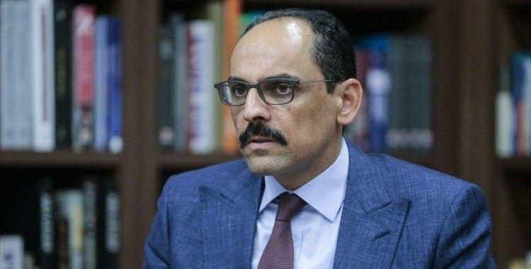 Kalın: Ali Erbaş Hoca'nın hutbesinde Atatürk'e dil uzatılması diye bir şey söz konusu değil
