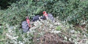 Samsun'da traktör şarampole yuvarlandı: 3 yaralı