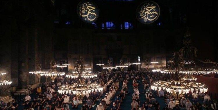 Malezyalı kuruluş WADAH'tan Ayasofya-i Kebir Camii'nin ibadete açılmasına destek