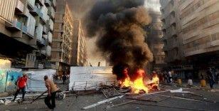 Bağdat'taki protestolarda: 3 ölü 21 yaralı