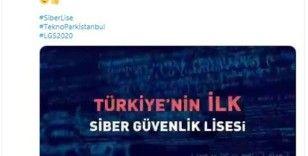 Vali Yerlikaya'dan Siber Güvenlik Lisesi paylaşımı