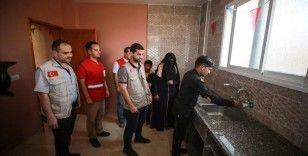 Gazze'de 'İnsana Layık Ev' projesiyle 12 evin tadilatı yapıldı