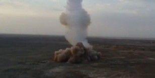 İran, askeri tatbikatında ilk kez yerin altından balistik füze ateşledi