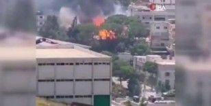 Parfüm fabrikasında yangın: 5 yaralı