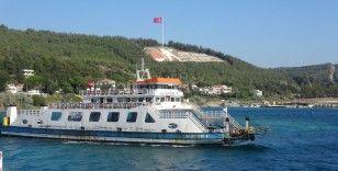 Çanakkale'de beklenen feribot kuyruğu oluşmadı