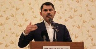 Bakan Kurum: 'Su kaynaklarımız kuruma tehlikesiyle karşı karşıya'