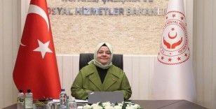 """Aile, Çalışma ve Sosyal Hizmetler Bakanı Selçuk'tan """"Kadın-erkek"""" eşitliğine vurgu"""