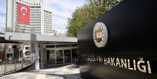 Dışişleri Bakanlığından ABD'li şirket ve YPG/PKK arasındaki petrol anlaşmasına tepki