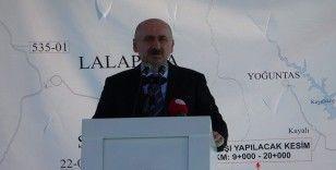 Edirne-Kırklareli yolunun İnece-Ürünlü kesimi açıldı