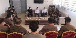 İçişleri Bakanı Soylu Afrin'deki güvenlik görevlilerinin bayramını kutladı