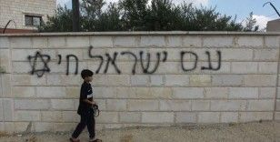 Yahudi yerleşimcilerden Batı Şeria'da ırkçı saldırı