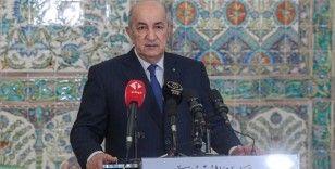 Cezayir'den Fas'a 'iyi komşuluk ilişkilerini güçlendirme' mesajı