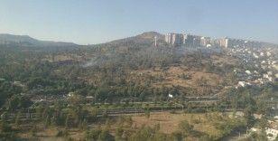 İzmir'de askeri alandaki orman yangını kontrol altında