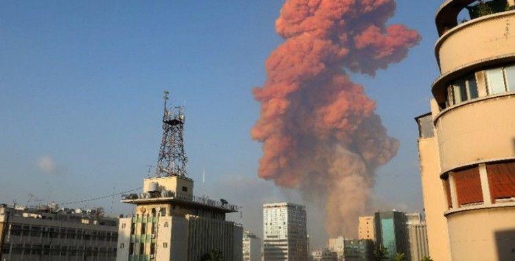 Beyrut'ta havai fişek deposunda şiddetli patlama: En az 10 ölü