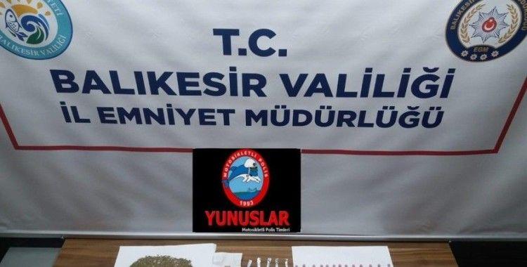Balıkesir'de uyuşturucu operasyonunda 1 kişi tutuklandı