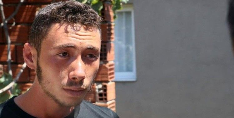 Foça'daki tekne kazasından sağ kurtulan genç, olay anını anlattı