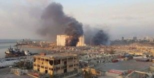 Lübnan'daki cami ve hastanede büyük hasar
