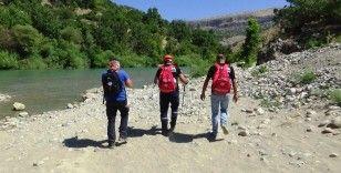 Diyarbakır'da kaybolan Miraç'ı arama çalışmaları 7'nci gününde