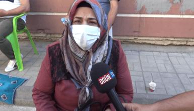 HDP binası önünde annenin feryadı