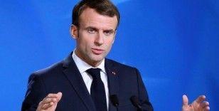 Fransa Cumhurbaşkanı Macron Beyrut'ta