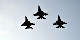 'TurAz Kartalı 2020' tatbikatı F-16'ların katılımıyla devam ediyor