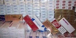 Şanlıurfa'da binlerce paket kaçak sigara ele geçirildi
