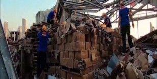 AFAD ekipleri Beyrut'ta arama kurtarma ve yardım faaliyetlerini sürdürüyor
