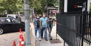 Kadıköy'de korsan sürücü yakalandı