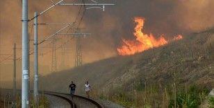 Bulgaristan-Türkiye sınırındaki yangın kontrol altına alınamıyor