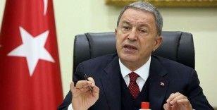 Bakan Akar: Pençe Operasyonlarında 83 terörist etkisiz hale getirildi