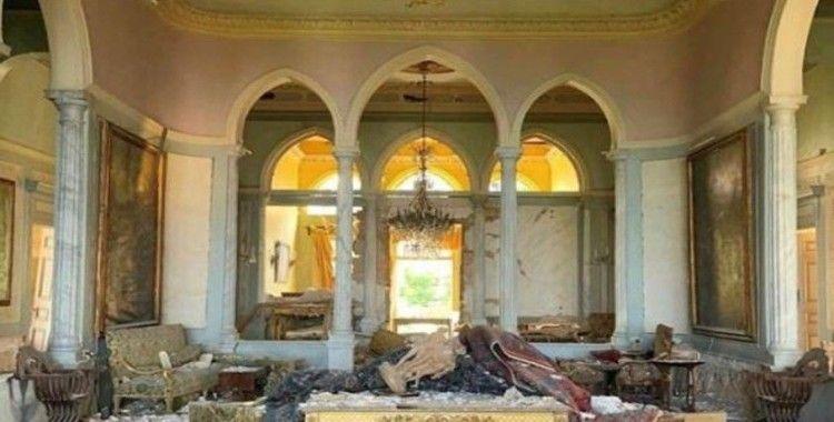 Lübnan patlamasında 160 yıllık tarihi Sursock Sarayı da hasar gördü