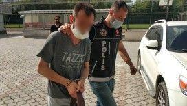Uyuşturucu paketleriyle yakalandı