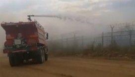 Bulgaristan'daki orman yangınının Türkiye'ye sıçraması önlendi