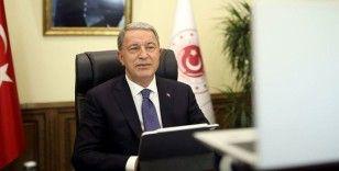 Bakan Akar: Doğu Akdeniz'deki hak ve menfaatlerin korunması için tüm tedbirler alındı