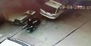 Üsküdar'da güpegündüz motosiklet hırsızlığı
