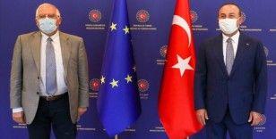 Dışişleri Bakanı Çavuşoğlu, AB Dış İlişkiler Yüksek Temsilcisi Borrell ile görüştü