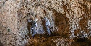 2 bin 500 rakımlı dağdaki mağarada bulunan kaya resimleri araştırılıyor