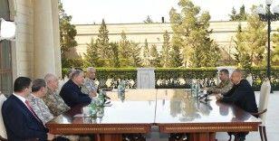 Milli Savunma Bakanı Akar, Azerbaycan Cumhurbaşkanı İlham Aliyev tarafından kabul edildi