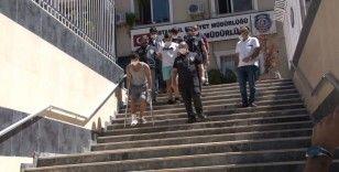Maltepe'de bekçilere ateş açan hırsızlar yakalandı