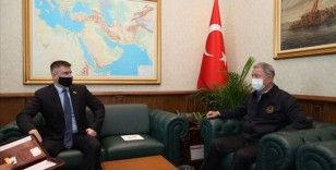 Bakan Akar, Ukrayna Savunma Bakan Yardımcısı Myroniuk'u kabul etti